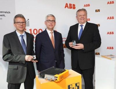 Peter Terwiesch, Ulrich Spiesshofer, Hans Wimmer