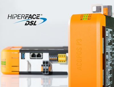 Die Sicherheitsfunktionen des B&R-Servoverstärkers Acopos P3 sind nun auch für Motoren mit sicherem Hiperface-DSL-Encoder verfügbar