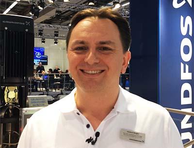 Adalbert Weigler von Grundfos im Interview mit EAD-portal.de