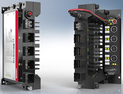 Ultra-Kompakt-Industrie-PC C7015 für die direkte Maschinenintegration