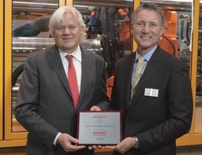 Husky Injection Molding Systems verleiht Beckhoff EMEA Supplier Award 2018
