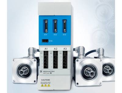 In einem kompakten Packaging werden bis zu drei Achsen, Versorgung, Netzfilter, Bremswiderstand und Zwischenkreis mit hoher Leistung vereint