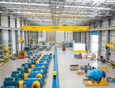 Der neue Flender-Standort in Perth ist die einzige Anlage an der Westküste Australiens mit einem 1,5-Megawatt-Prüfstand