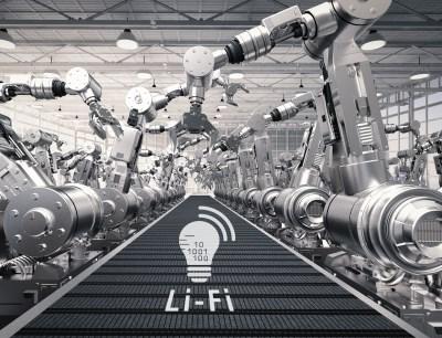 Li-Fi, also die drahtlose Datenübertragung mit Licht bietet Kommunikation in Echtzeit für verschiedene Anwendungen