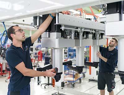 Mitarbeiter bei Gerhard Schubert GmbH