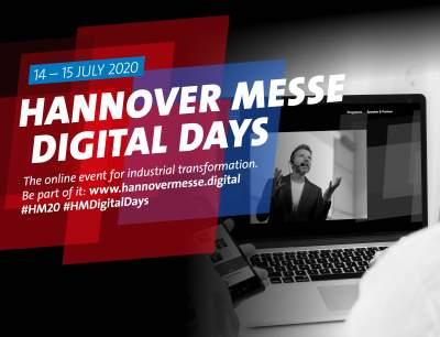 Hannover Messe Digital Days 2020 feiern Premiere