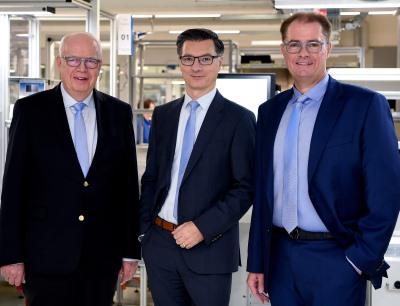 Bernhard und Michael Juchheim führen ab Januar 2020 die Jumo-Unternehmensgruppe gemeinsam mit Dimitrios Charisiadis