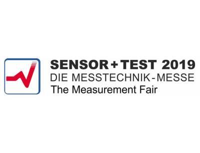 Logo der Sensor+Test 2019