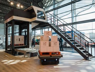 Voll automatisierter Materialfluss für Fast Moving Consumer Goods