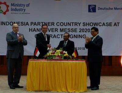 Indonesien wird Partnerland der Hannover Messe 2020