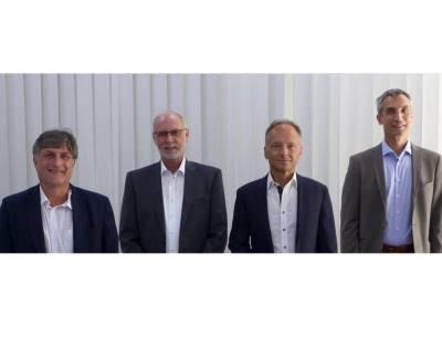 Der neu gewählte Vorstand der PNO (v.l.n.r.): Frank Moritz, Dr. Jörg Hähniche, Prof. Dr. Frithjof Klasen, Karsten Schneider