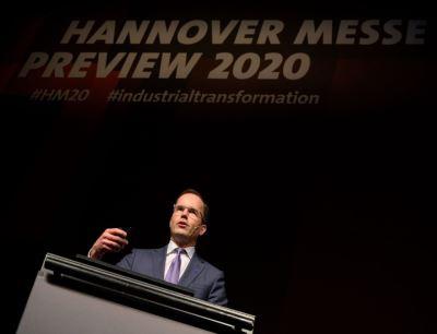 Dr. Jochen Köckler, Vorsitzender des Vorstands der Deutschen Messe AG