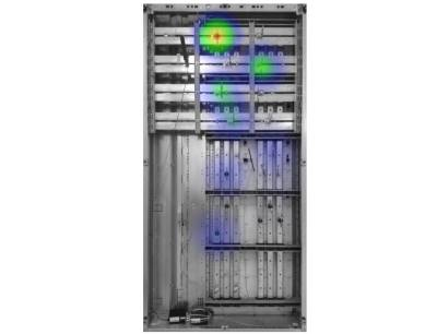Forscher am Fraunhofer IPMS haben ein draht- und batterieloses RFID-Sensor-System entwickelt, das die Temperatur in Schaltanlagen überwachen kann