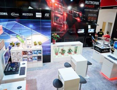 Der Stand von Rutronik auf der PCIM 2017