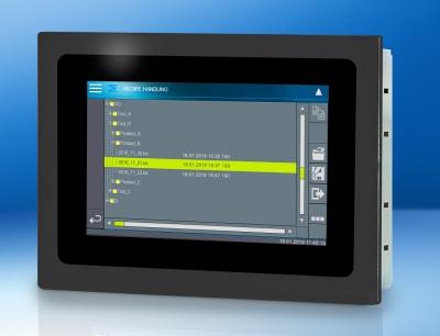 Das ETT 412 im modernen Widescreen-Format mit kapazitivem 4,3 Zoll Touchdisplay