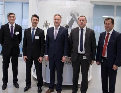 Der neue Ausstellungsraum von Stäubli Robotics in Faverges