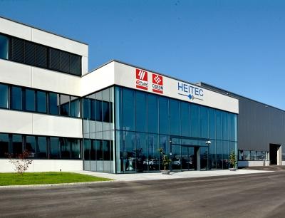 Blick auf das neue Technologiezentrum von Heitec am Standort Ardagger-Stift/Österreich, in dem Eplan und Cideon jetzt ansässig sind