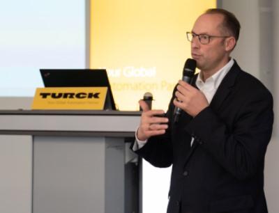 Turck-Geschäftsführer Christian Wolf
