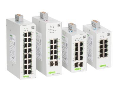 Netzwerke intuitiv überwachen und konfigurieren: Lean-Managed-Switches von Wago