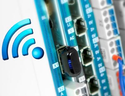 Die Wlan-Adapter Wifi-C und Wifi-Pro von Sigmatek vereinfachen die kabellose CPU-Kommunikation sowie die Programmierung einer CPU ausgehend von einem beliebigen Wireless-Gerät