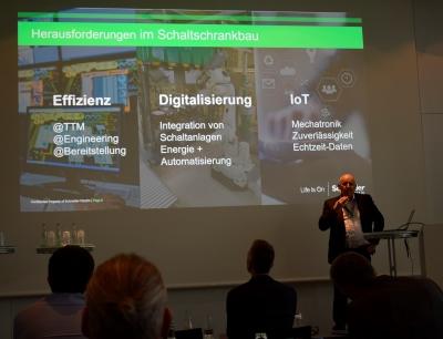 Schneider Electric zu Gast bei WSCAD: Effizienz in der Schaltschrankplanung