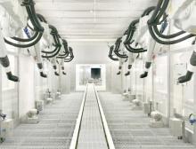 ABB Robotics liefert moderne umweltschonende Lackierlösungen für Saic Volkswagen
