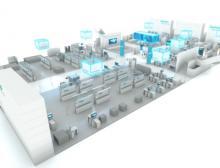 Auf der SPS IPC Drives 2018 zeigt Siemens branchenspezifische Anwendungen