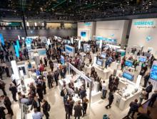 Messeimpressionen von der SPS IPC Drives 2017 vom Siemens Messestand