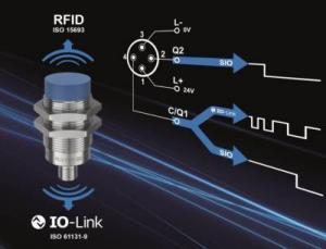 Die HF-Schreib-/Leseköpfe mit IO-Link verbinden zwei Standards