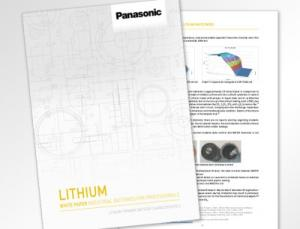 Das neue Lithium Whitepaper von Panasonic mit ausführlichen Informationen