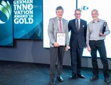 Für ABB ist es eine Ehre vom German Design Council diese Anerkennung für ihre zukunftsweisende nicht-invasive Temperaturmesstechnik zu erhalten