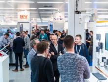 Messeimpression von der All About Automation 2020 in Hamburg