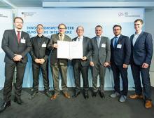 Auszeichnung des Speaker-Projekts beim KI-Innovationswettbewerb 2019