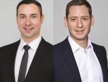 Stefan Reuther, Chief Sales Officer (links) und Johannes Petrowisch, Global Partner & Business Development Manager