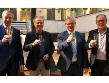 Management von Stemmer Imaging und Batenburg nach der Vertragsunterzeichnung