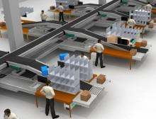 An den Kommissionierplätzen installiert Dematic ein Pick-by-Light-System
