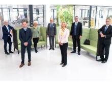 Der Harting Vorstand hält für das laufende Geschäftsjahr 2020/21 ein moderates Umsatzplus für möglich