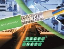 Getestete Chainflex Profinet-Leitungen sorgen für einen zuverlässigen Datentransport in bewegten Anwendungen