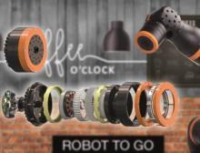 Mit dem leichten Getriebebaukasten von Igus lassen sich neue Ideen im Bereich der Servicerobotik einfach und kostengünstig umsetzen