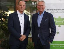Hartmut Braun, Geschäftsführer LTI Motion / Gerhard Luftensteiner, CEO Keba AG