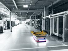Intelligente Intralogistik: 16 weitere KMP 1500 werden künftig bei BMW für den flexiblen Materialfluss sorgen
