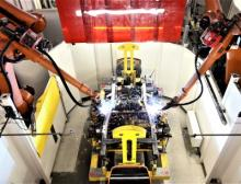 Mit Kukas Schweißtechnologie fertigt Magna zukünftig die Leiterrahmen der elektrischen Mercedes G-Klasse