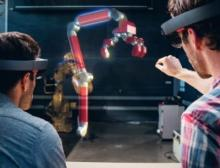 Mixed Reality ist eine holographische Technologie, welche die physische Welt mit der virtuellen Realität kombiniert