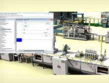 Mit der Software ist virtuelles Testen von Maschinen- und Systemdesigns für Kunden möglich