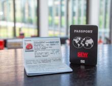 Der Reisepass liefert Reiseinformationen für Drehstrommotoren der Baureihe DR