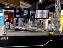 Auf der Hannover Messe 2020 vom 20. bis 24. April zeigt das KIT in Halle 25 am Stand C14, was mit der intelligenten Spindelüberwachung in Kugelgewindetrieben möglich ist