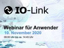 Auch beim IO-Link Webinar kann der Teilnehmer je nach Kenntnisstand zwischen zwei Zügen wählen